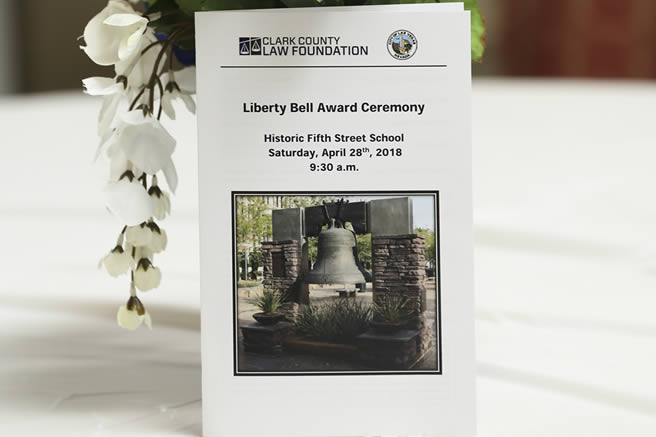 Liberty Bell Award Ceremony