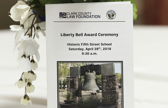 Liberty Bell Award Ceremony 2018